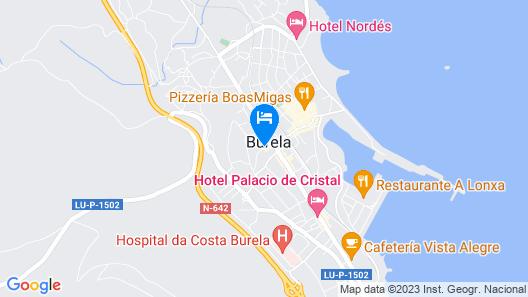 Hotel Galatea Map