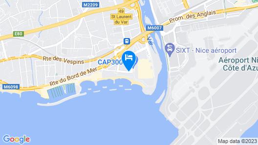 Novotel Nice Aeroport Cap 3000 Map