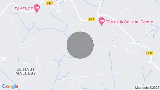 Villa de Charme Entre mer et Montagne Map