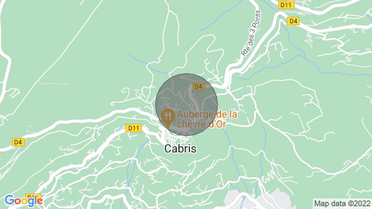 3 Bedroom Accommodation in Cabris Map