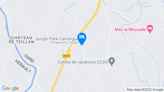 Domaine du Grand Malherbes Map