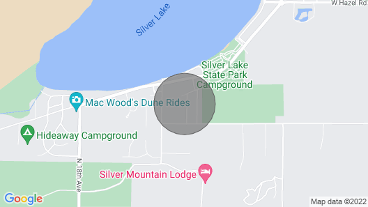 Travel trailer in sub-division 1/4 mile from State Park Entrance Map