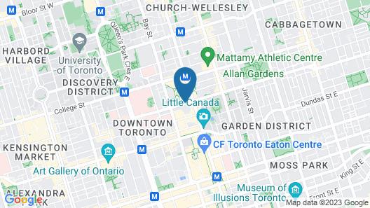 Chelsea Hotel, Toronto Map
