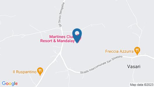 Martines Club Resort & Mandalay SPA Map