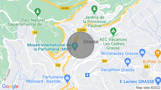 Studio in the heart of Grasse Map