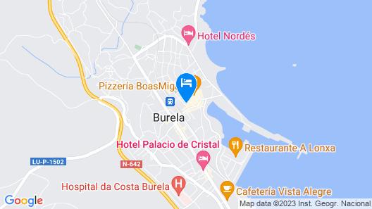 Hotel Sargo Map