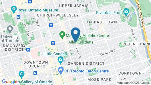 Ramada Plaza by Wyndham Toronto Downtown Map