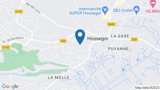 House / Villa - Soorts-hossegor Map