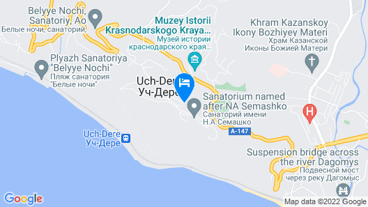 Guest House SunCity Map