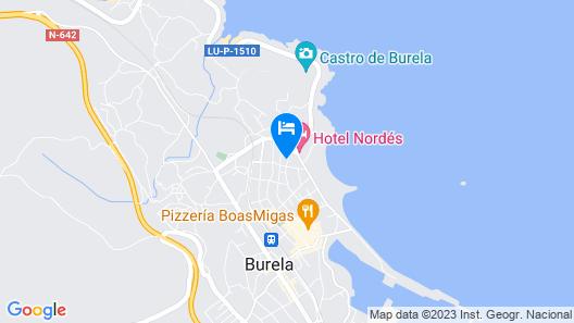Luxury Burela Map