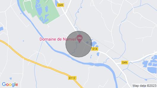 Domaine de Namiel Map