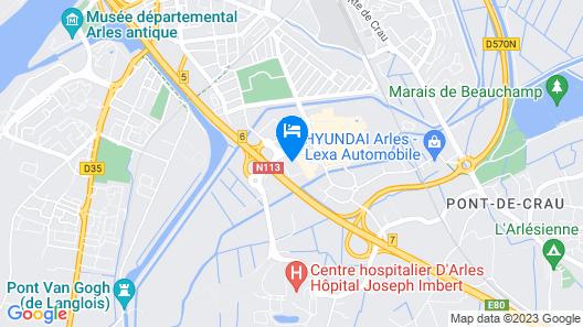 Arl Hotel Map