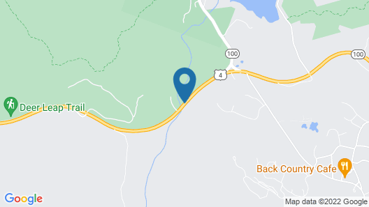 Killington Motel Map