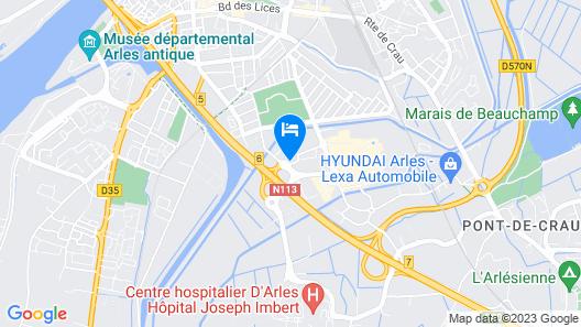 ibis Arles Map