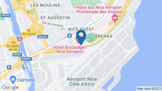 ibis budget Nice Aeroport Promenade des Anglais Map