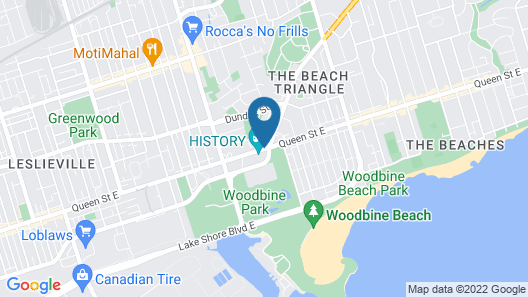 Days Inn by Wyndham Toronto East Beaches Map