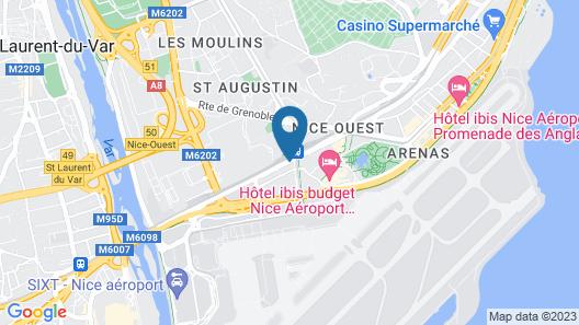 Holiday Inn Express Nice Grand Arenas, an IHG Hotel Map