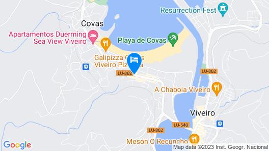 Apartamentos Val Do Naseiro Map