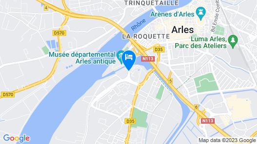 ibis Styles Arles Palais des Congrès Map