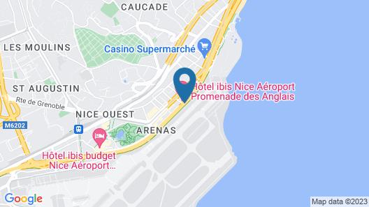 ibis Nice Aéroport Promenade des Anglais Map