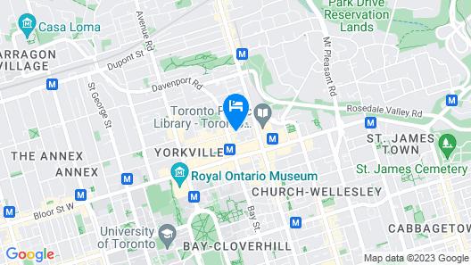 Four Seasons Hotel Toronto Map