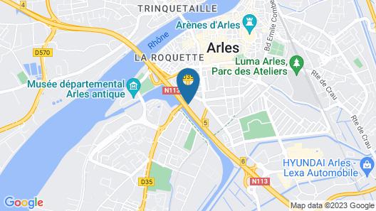 Hôtel Arles Plaza Map