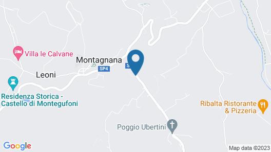 Il Borgo di Villa Bossi-Pucci Map