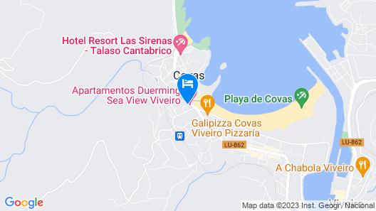 Apartamentos Duerming Sea View Viveiro Map