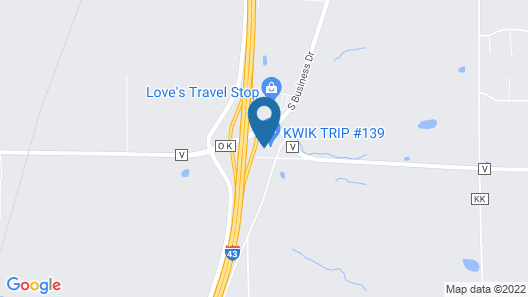 Sleep Inn & Suites Sheboygan I-43 Map
