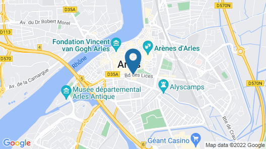Hotel Jules Cesar & Spa - Mgallery Hotel Collection Map