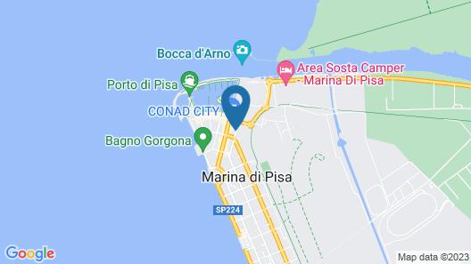 La Papaya Map