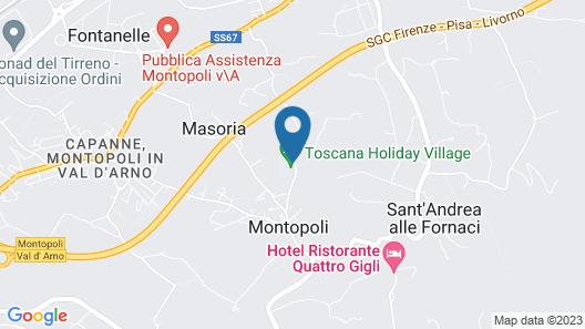 Toscana Holiday Village Map