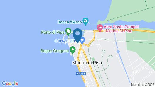 Villino Ermione Map