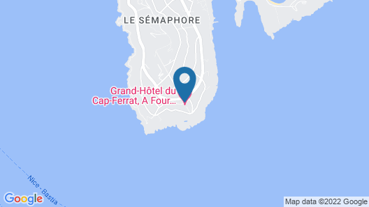 Grand-Hôtel du Cap-Ferrat, A Four Seasons Hotel Map