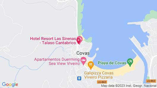 Thalasso Cantábrico Las Sirenas Map