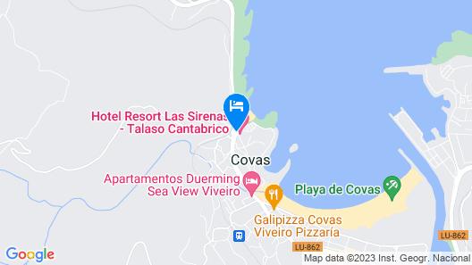 Apartamentos Las Sirenas Map