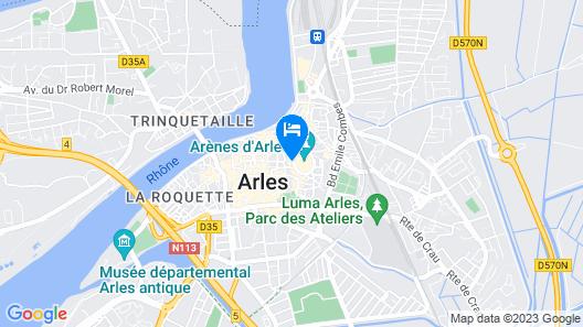 Palais de Luppé Map