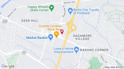 Motel 6 Portland, ME Map