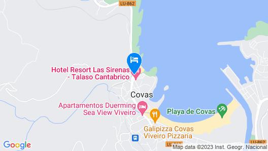 Hotel Las Sirenas Map