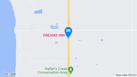 Dreamz Inn Map