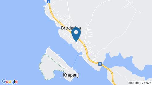 Pansion Zlatna Ribica Map