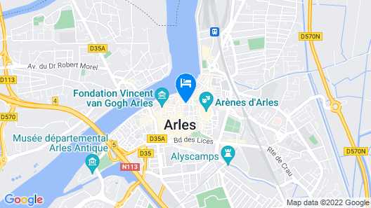 Hotel De La Muette Map