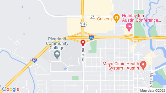 Super 8 by Wyndham Austin MN Map