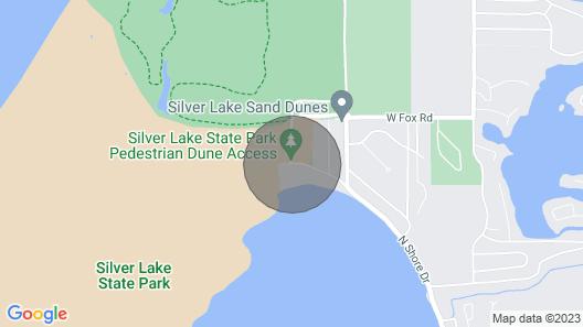 New Lakefront Silver Lake Rental Map