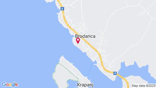 Villa Korina Map