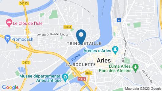 Hotel Porte de Camargue Map