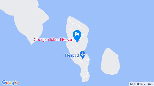 Obonjan Island Resort Map