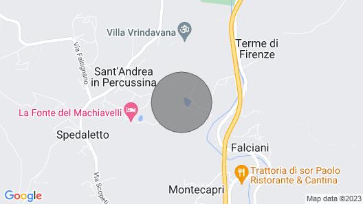 Casale del Lago, San Casciano in Val di Pesa, Florence and Chianti Map