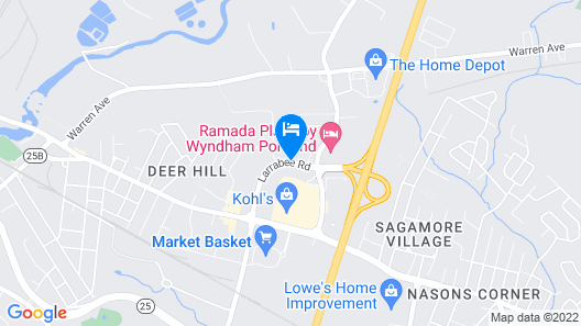 Super 8 by Wyndham Portland ME Map