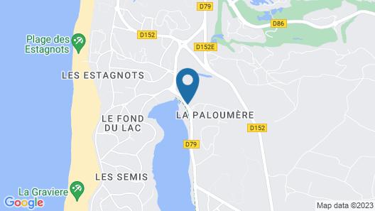 Les Acanthes Map
